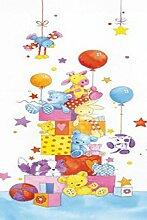 Set: Kinderwelten, Kleine Freunde I, 1-Teilig Fototapete Poster-Tapete (200x86 cm) Inklusive 1x 1art1® Collection Poster