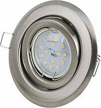 Set LED Einbaustrahler 5Watt - 430Lumen - 230Volt