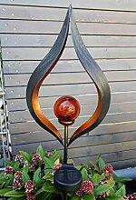 Set LED Solar Gartenleuchte Gartenstecker