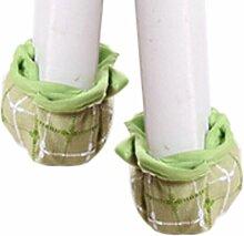 Set Of 24 Bodenunter Stuhl / Tabelle Socken Quermuster grün