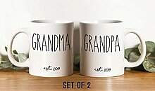 Set Opa Oma Tassen Kaffeetasse/Kaffeebecher