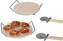 Set Pizzasteine Backofen und Grill–mes106