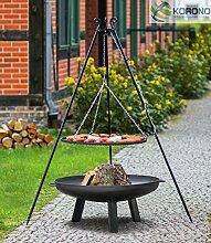 Set - Schwenkgrill 1,80m mit Ø50cm Grillrost und
