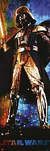 Set: Star Wars, Darth Vader Tür-Poster (158x53 cm) inklusive 1x 1art1® Collection Poster