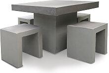 Set - Tischgruppe Rockall 100x100 cm