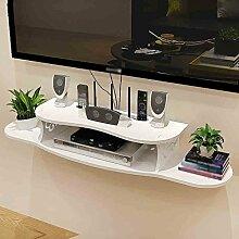 Set-top Box Regal Trennwand Regal Wand Hängendes Wohnzimmer TV-Set Auf Der Wand Trennwand Router Aufbewahrungsbox ( größe : 80*19*11cm )