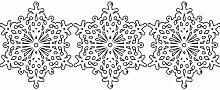 Set von 3 - 20 cm Farbe Weiß Schneeflocken Weihnachten Schneeflocken Aufkleber , Weihnachten Aufkleber, Yule , Fenster Aufkleber , Wandaufkleber , Schneeflocke Vinyl Aufkleber , ThatVinylPlace