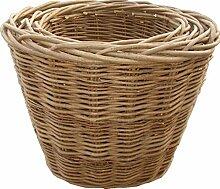 Set von 3 Oval Log Baskets