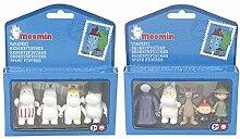 Set von 4 + 5 Nette (Moomin) Mumin Zeichentrick