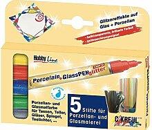 Set Von Porzellan-Und Glas-Marker KREUL 5