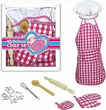 Set zum Kochen und Backen für Kinder - 11 Stück