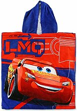 Setino CR-H-PONCHO-36 Disney Pixar Cars Kinder