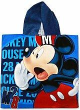 Setino MIC-H-PONCHO-91 Disney Mickey Maus Kinder