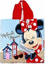 Setino MIN-H-PONCHO-26 Disney Minnie Maus Kinder