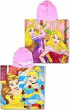 Setino PR-H-PONCHO-79 Disney Princess Kinder