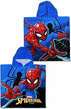 SETINO SP-H-PONCHO-30 Marvel Spider-Man Kinder
