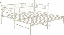 setsail Florenz Metallbett Tagesbett ausziehbar