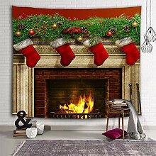 Sevendec Weihnachts-Wandteppich, Wandteppich, für