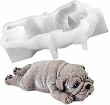 SEVENHOPE 3D Shar Pei Hund Form Silikonform