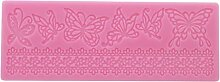 SEVENHOPE Rosa Silikon Form Schmetterling Lace