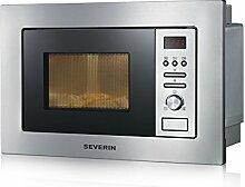 SEVERIN 2-in-1 Einbau-Mikrowelle, Mit