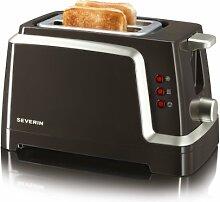 Severin AT 2223 Automatik-Toaster, braun-titan