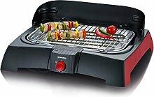 Severin Barbecue-Grill PG 2785 schwarz/rot schwarz/ro