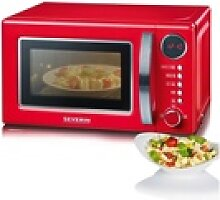 Severin Mikrowelle MW 7893, Grill, 20 l rot