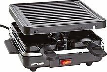 SEVERIN Mini Raclette-Grill, ca. 600 W, Inkl. 4