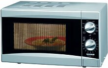 Severin MW 7806 Mikrowelle mit Grill, silber / 700
