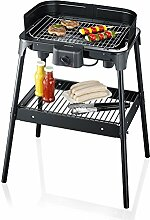 Severin PG 2792 – Electric barbecue grill black (Certified and General Holt)