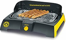 Severin PG 9739 Barbecue-Grill, BVB schwarz / gelb