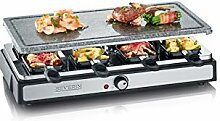 SEVERIN RG 2346 Raclette Grill mit Naturgrillstein