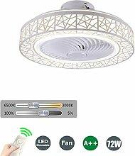 SFOXI Deckenventilator Licht LED mit Fernbedienung