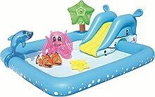 SFWEFWFAFAF Kinder-Schwimmbad, faltbar,