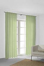 SG HOME Vorhang nach Maß grün mit