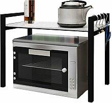 SGMYMX Mikrowellen-Regal Küchenregal