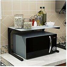 SGMYMX Mikrowellen-Regal Küchenregale