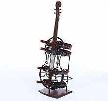 SGSG Mode Kreativität Weinflaschenhalter Cello