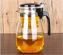 SGXDM Hitzebeständige Glastasse Teekanne mit