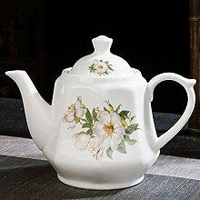 SGXDM Hitzebeständiger Keramik Teekanne
