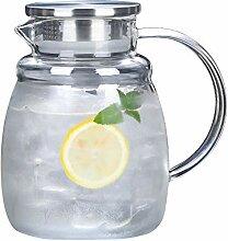 SGXDMsh 1.5 L/Liter Saft Blume Trinken Glas