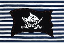 SH-2367-02 Teppich Capt`n Sharky - Flagge 110x170