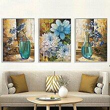 SH Einfache Klassische Floralen Farbe Gemalt