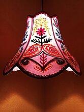 Shabby Chic Lampe Shyamana Lila
