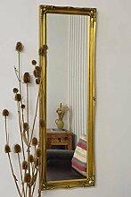 Shabby Chic Mirrors Volle Länge Antik Gold
