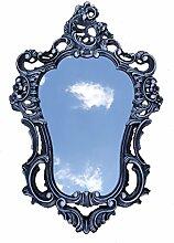 Shabby Chic Schwarz-Weiß Dulacolor Wandspiegel Spiegel Barock Antik 50X76 Wanddeko