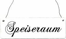 Shaby Vintage Türschild SPEISERAUM Holzschild Hotel Restaurant Ferienhaus