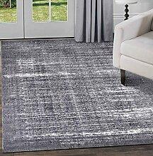 Shadow Collection Teppiche, Grau & Elfenbein, 160x230 cm - 5'2''x7'5 '' f