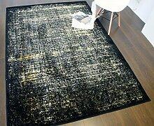 Shadow Collection Teppiche, schwarz / gold, 160x230 cm - 5'2''x7'5 '' f